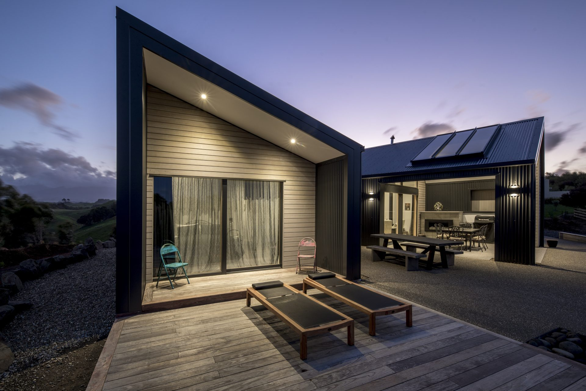 House built by New Plymouth Builders